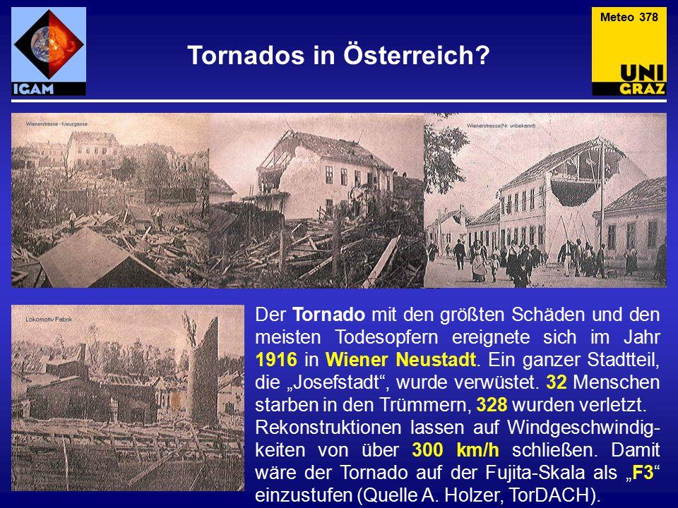 Tornados in Österreich