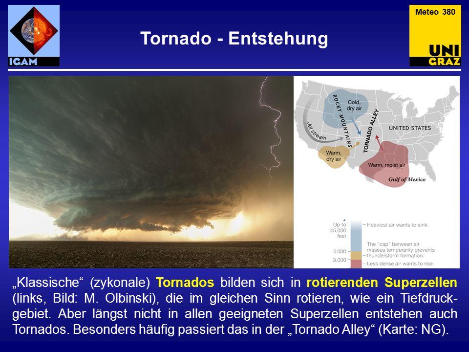 Meteo 380 Tornado - Entstehung.