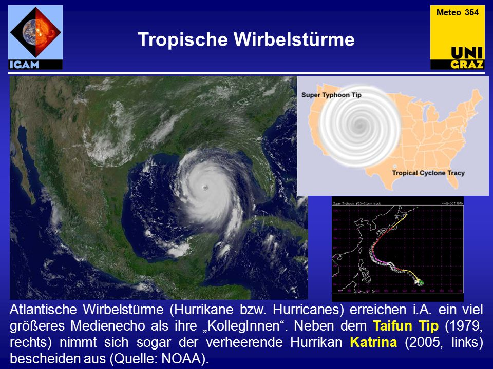 Tropische Wirbelstürme