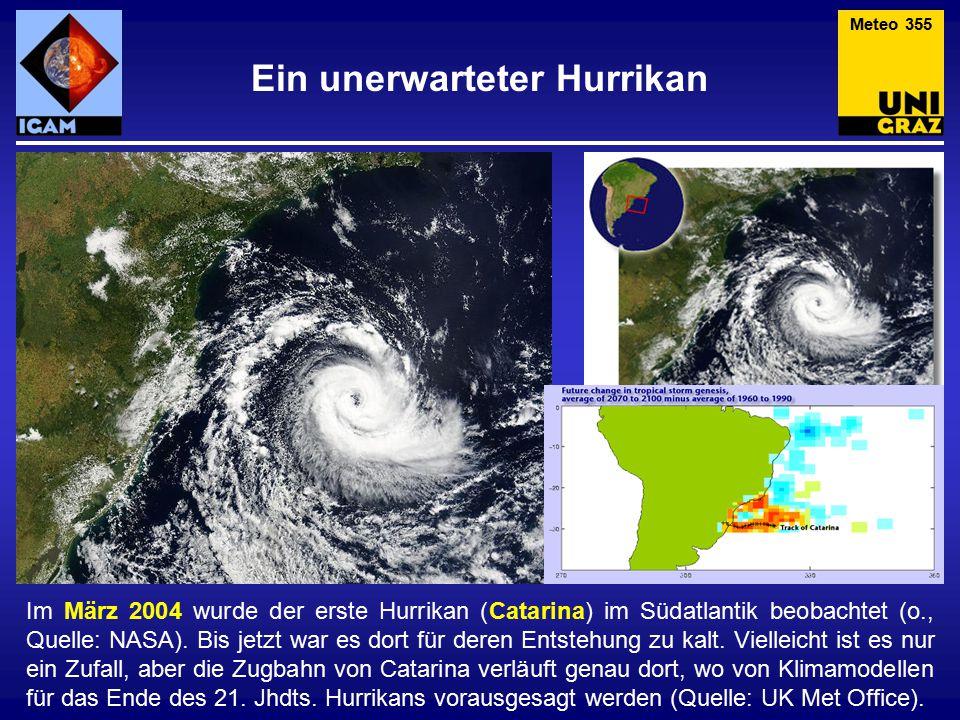 Ein unerwarteter Hurrikan