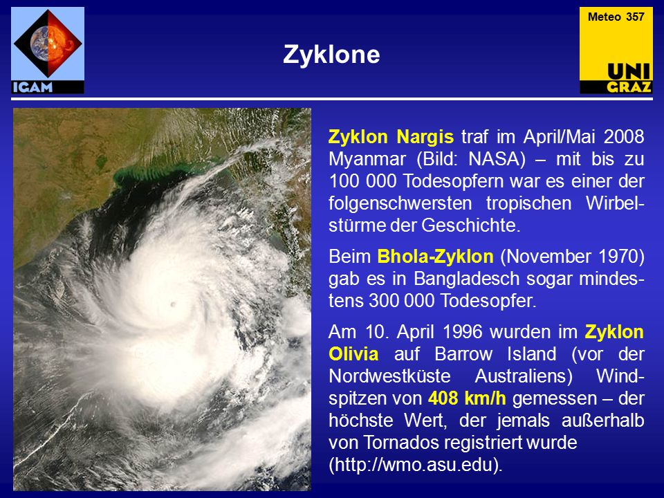 Meteo 357 Zyklone.