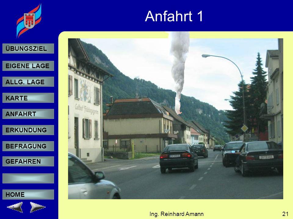 Anfahrt 1 Ing. Reinhard Amann