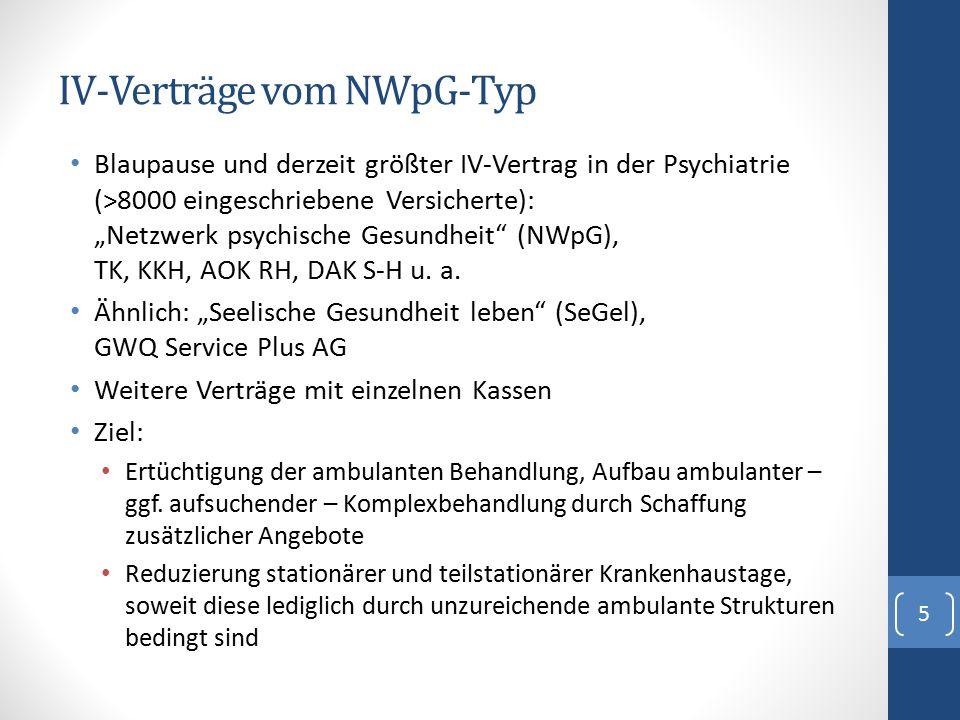 IV-Verträge vom NWpG-Typ