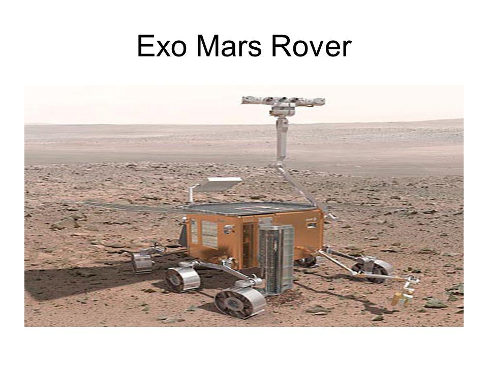 Exo Mars Rover