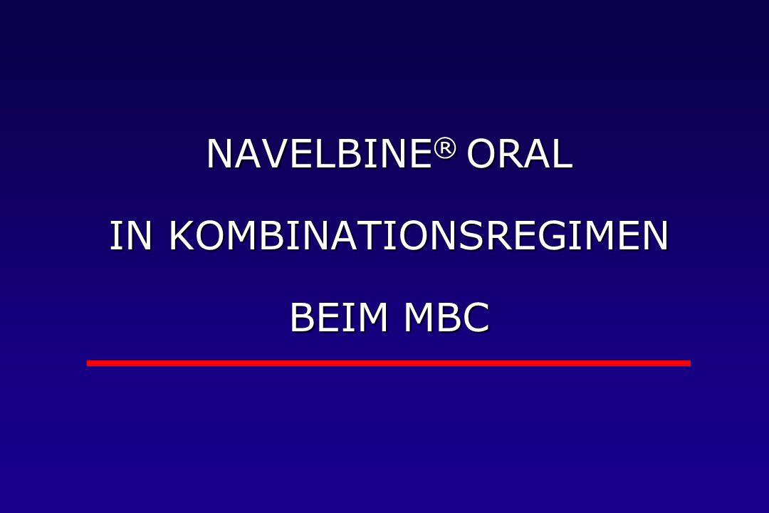 NAVELBINE® ORAL IN KOMBINATIONSREGIMEN BEIM MBC