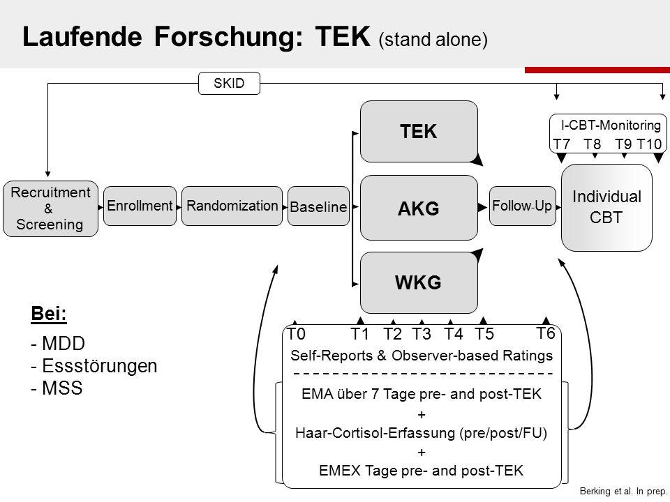 Laufende Forschung: TEK (stand alone)