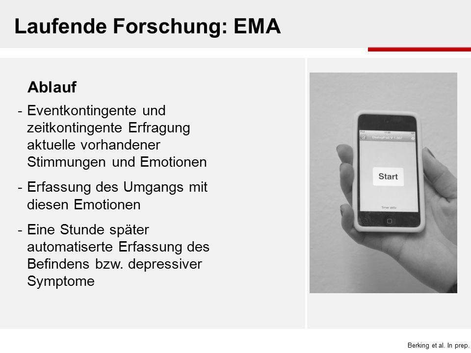 Laufende Forschung: EMA