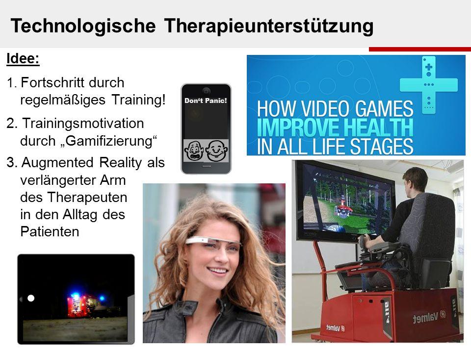 Technologische Therapieunterstützung