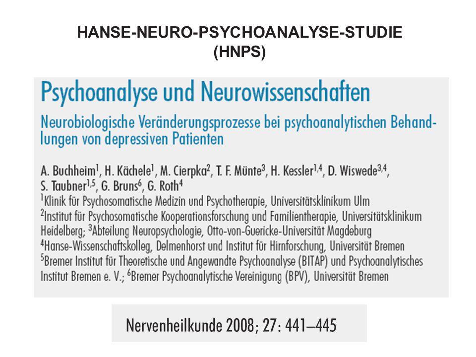 HANSE-NEURO-PSYCHOANALYSE-STUDIE (HNPS)