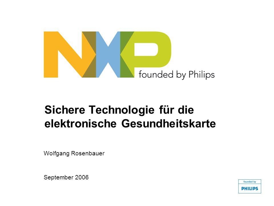 Sichere Technologie für die elektronische Gesundheitskarte