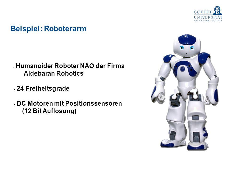 Beispiel: Roboterarm Aldebaran Robotics 24 Freiheitsgrade