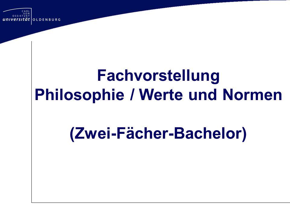 Fachvorstellung Philosophie / Werte und Normen (Zwei-Fächer-Bachelor)