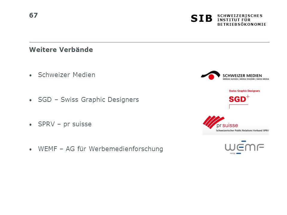 Weitere Verbände Schweizer Medien. SGD – Swiss Graphic Designers.
