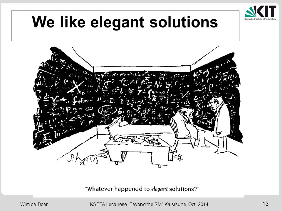 We like elegant solutions