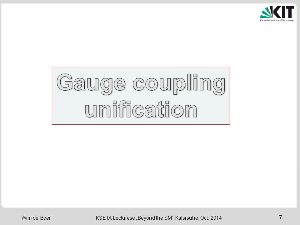 Gauge coupling unification