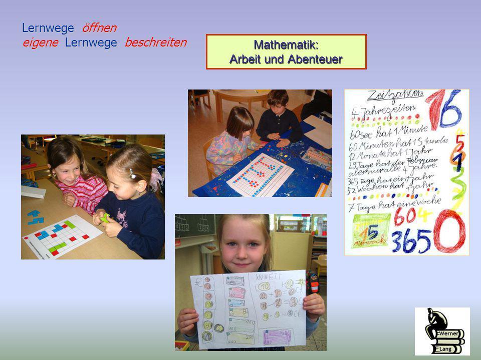 Mathematik: Arbeit und Abenteuer