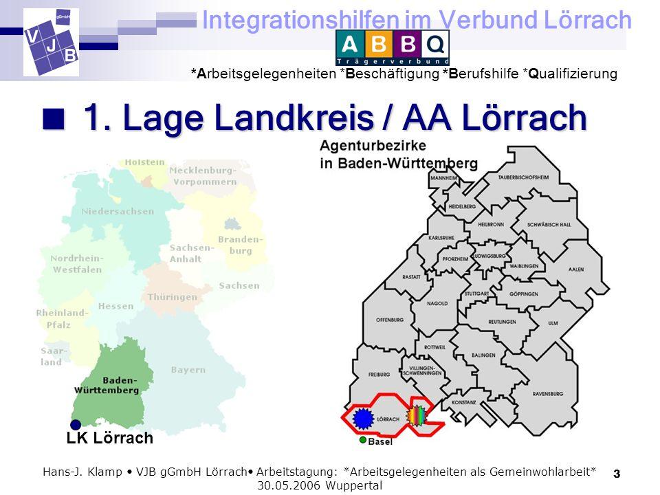  1. Lage Landkreis / AA Lörrach