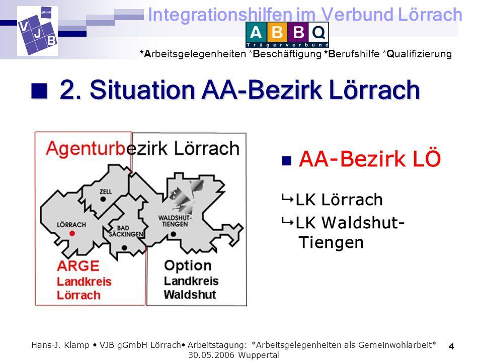  2. Situation AA-Bezirk Lörrach