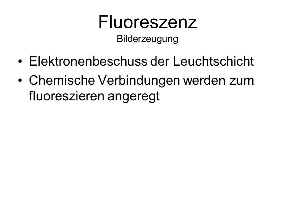 Fluoreszenz Bilderzeugung