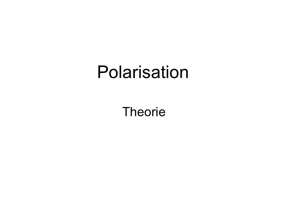 Polarisation Theorie