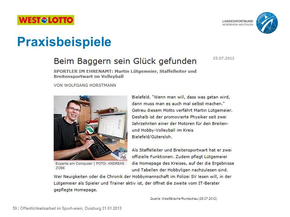 Quelle: Westfälische Rundschau (25.07.2012)