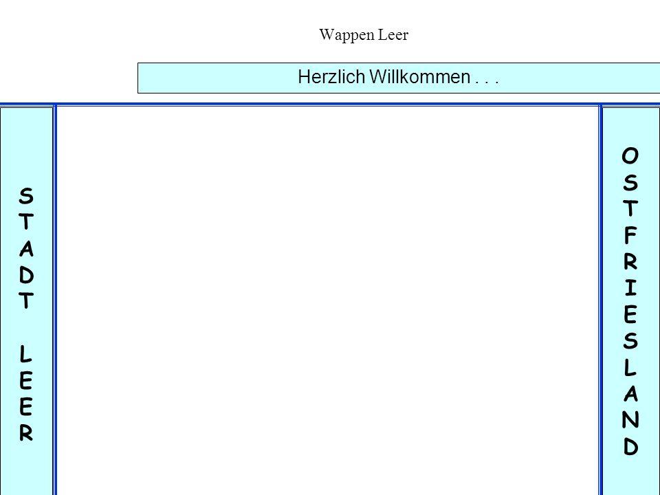 O S S T T F A R D I E L L E A N R D Herzlich Willkommen . . .