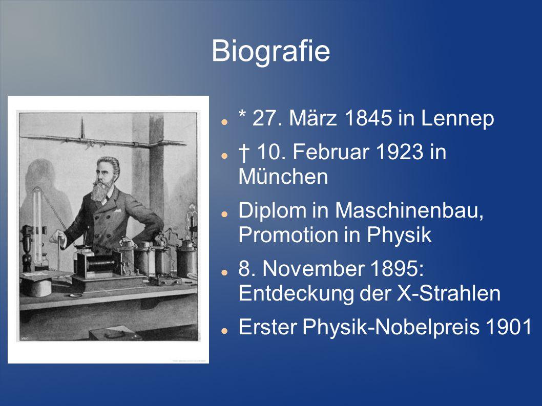 Biografie * 27. März 1845 in Lennep † 10. Februar 1923 in München