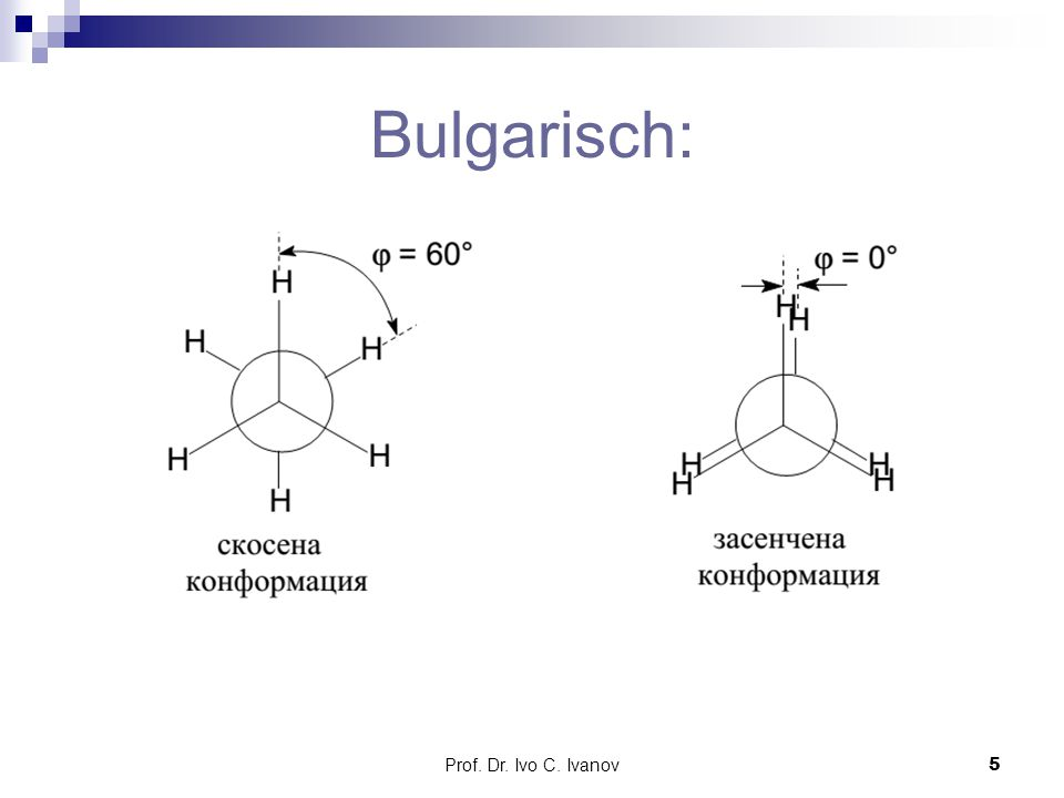 Bulgarisch: Prof. Dr. Ivo C. Ivanov
