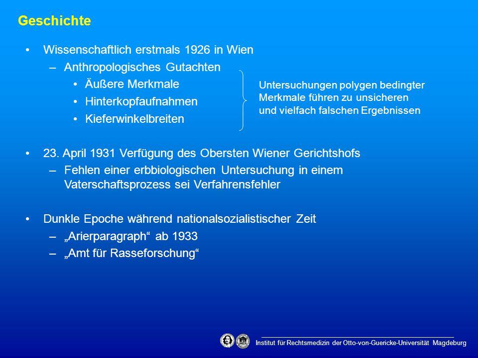 Institut für Rechtsmedizin der Otto-von-Guericke-Universität Magdeburg