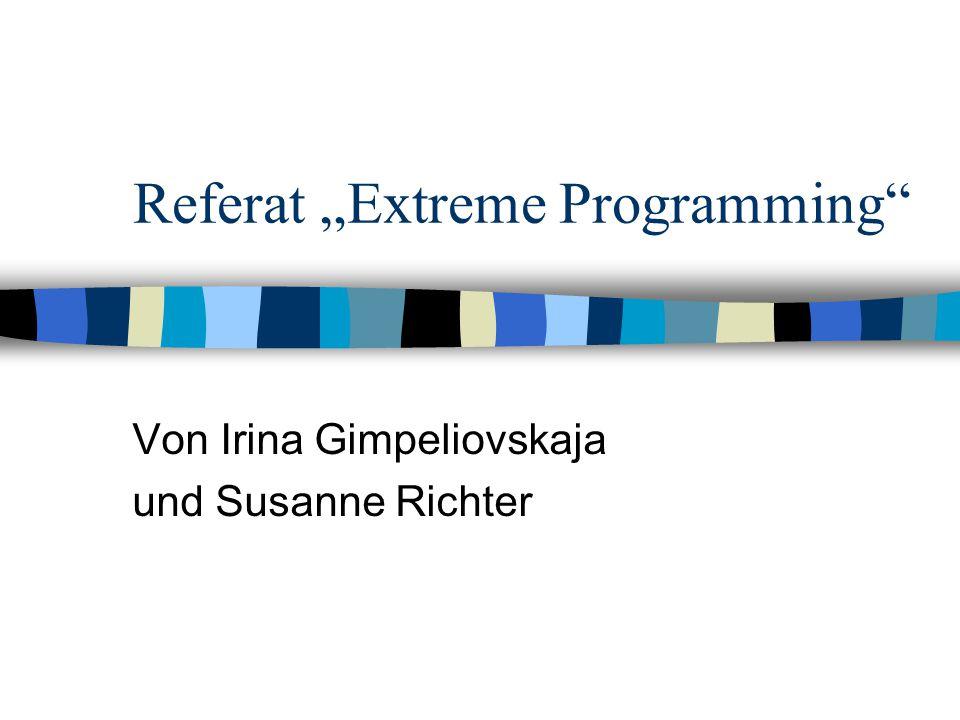 "Referat ""Extreme Programming"