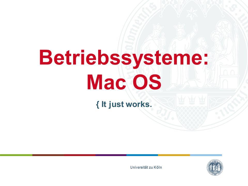 Betriebssysteme:Mac OS