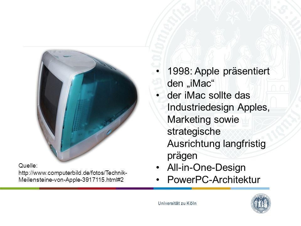 "1998: Apple präsentiert den ""iMac"