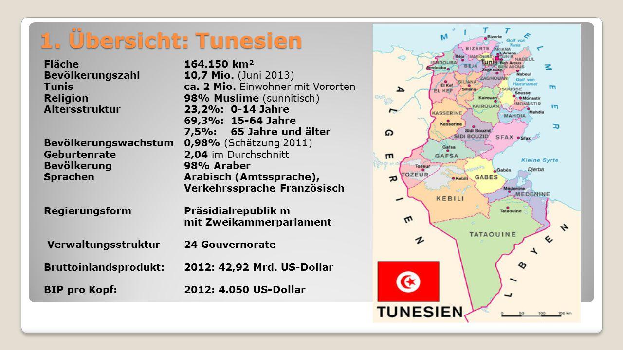 1. Übersicht: Tunesien