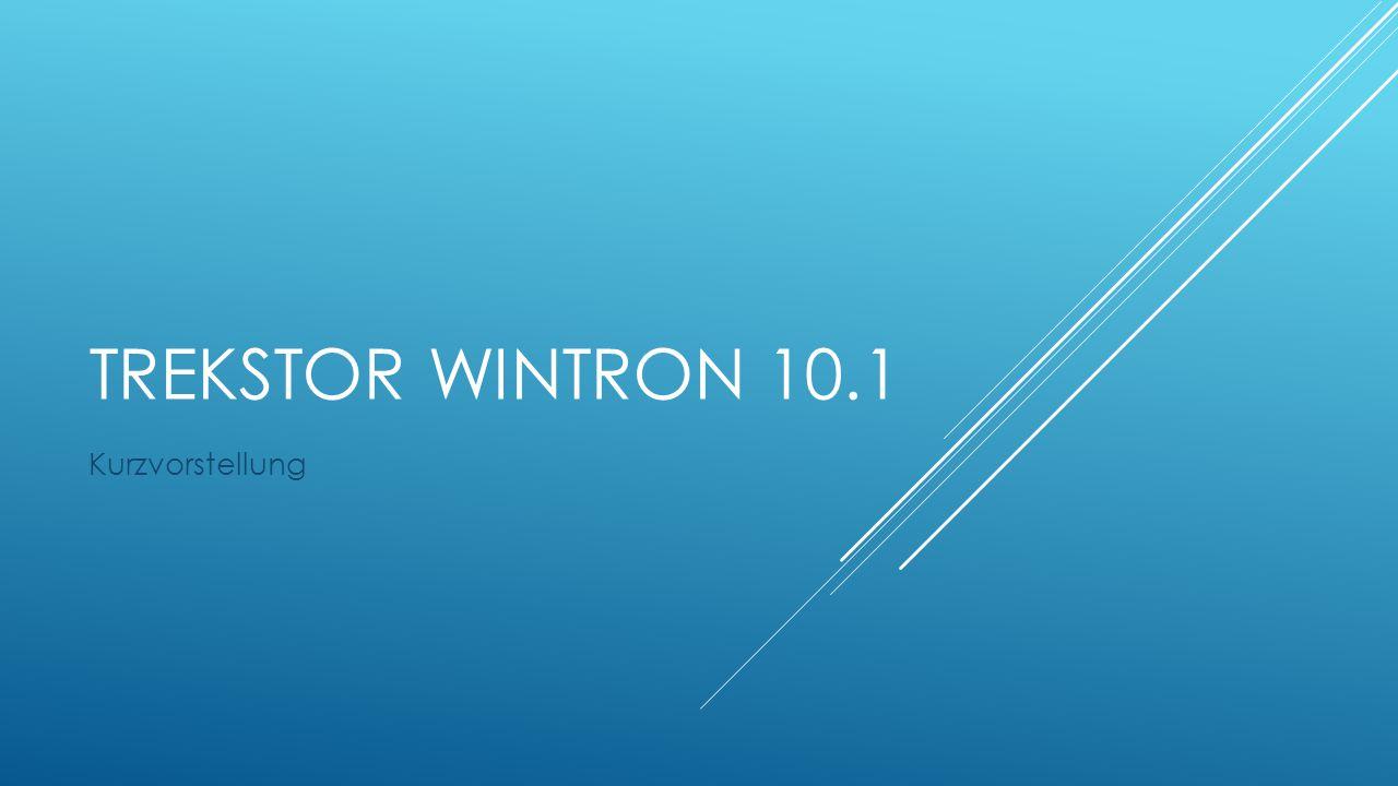 TRekstor Wintron 10.1 Kurzvorstellung