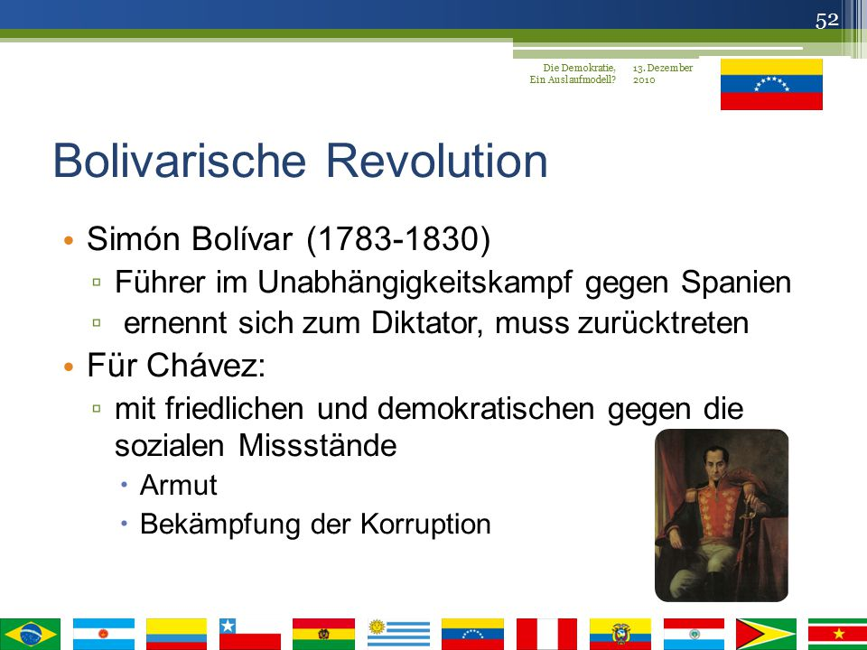 Bolivarische Revolution