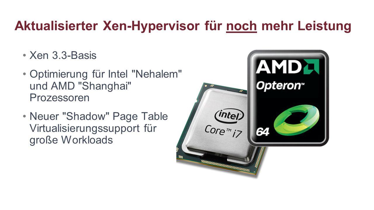 Aktualisierter Xen-Hypervisor für noch mehr Leistung
