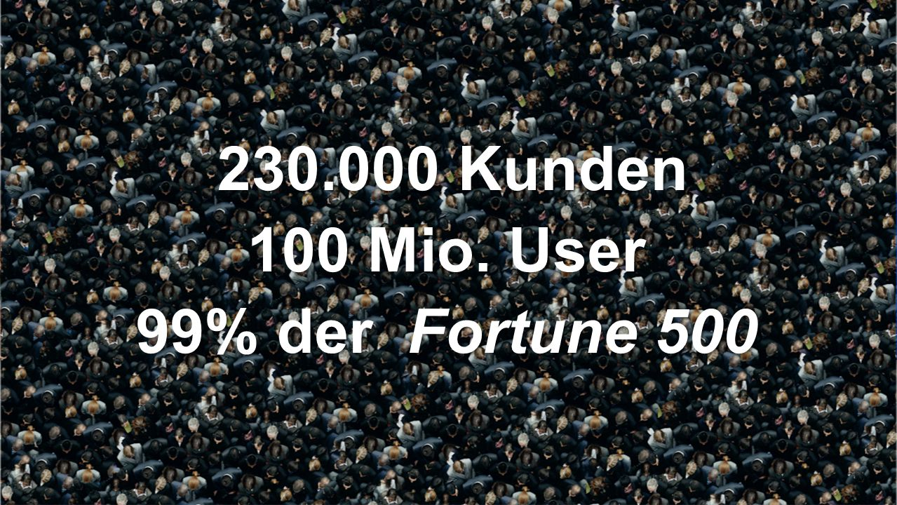 Citrix XenApp 230.000 Kunden 100 Mio. User 99% der Fortune 500