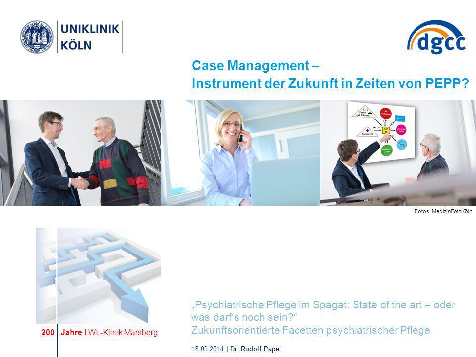 Case Management – Instrument der Zukunft in Zeiten von PEPP