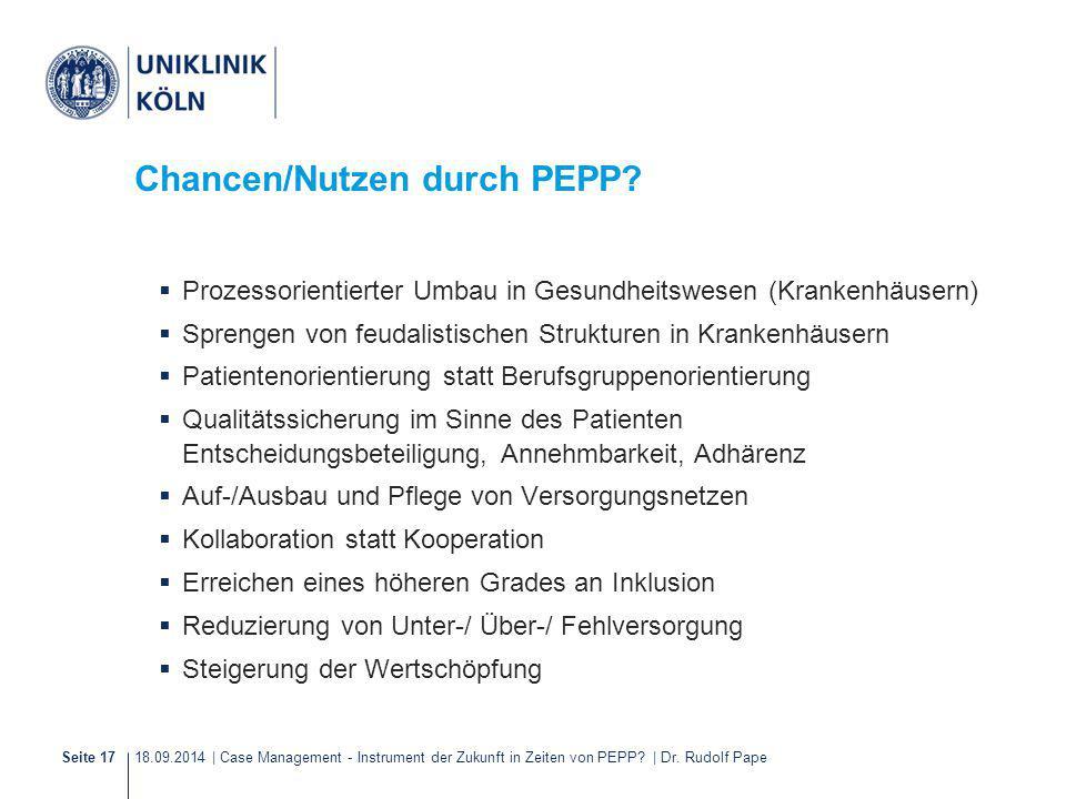 Chancen/Nutzen durch PEPP