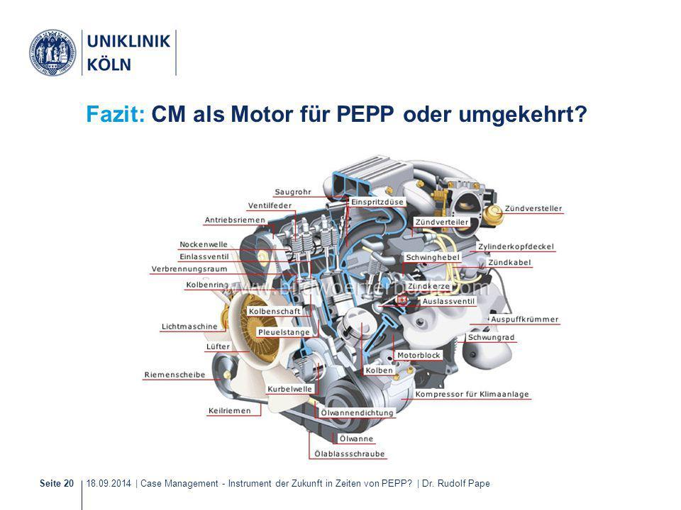Fazit: CM als Motor für PEPP oder umgekehrt