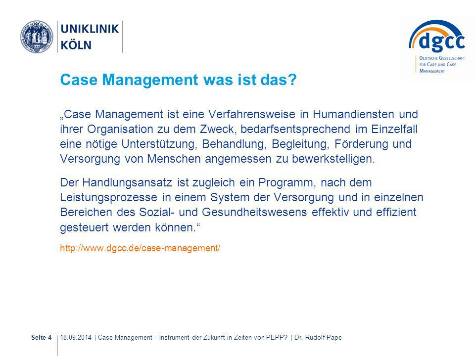 Case Management was ist das