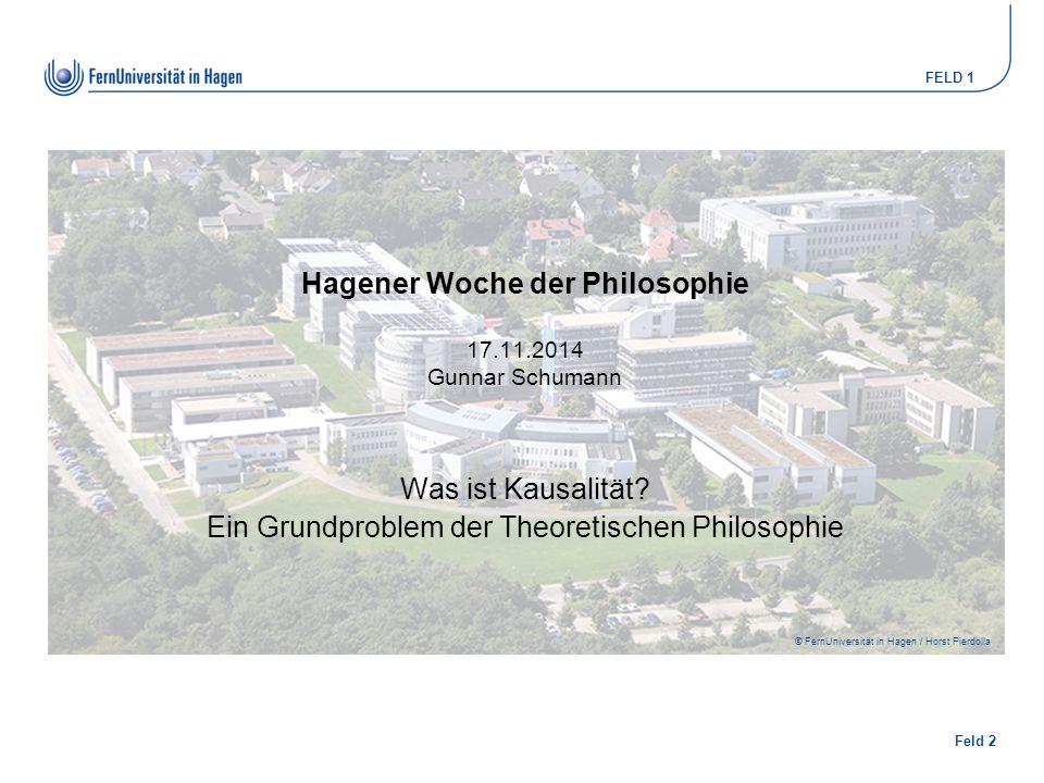 Hagener Woche der Philosophie 17.11.2014 Gunnar Schumann