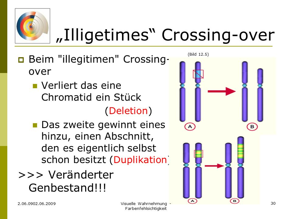"""Illigetimes Crossing-over"
