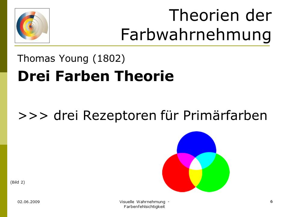 Theorien der Farbwahrnehmung