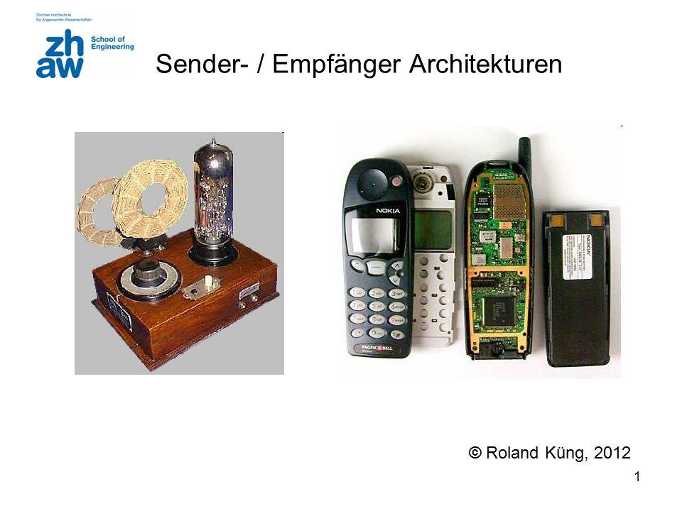 Sender- / Empfänger Architekturen