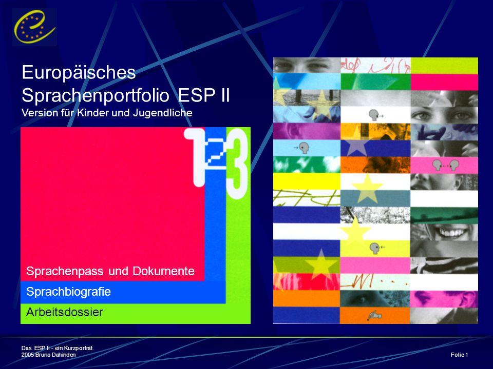 Sprachenportfolio ESP II