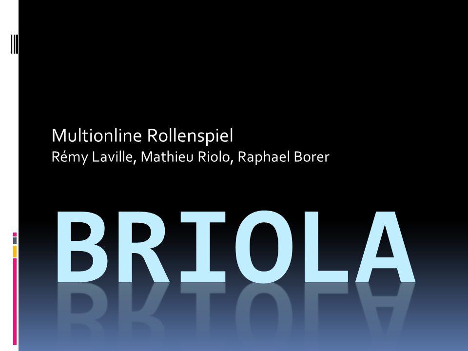 Multionline Rollenspiel Rémy Laville, Mathieu Riolo, Raphael Borer