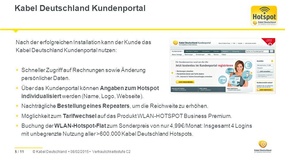 Kabel Deutschland Kundenportal
