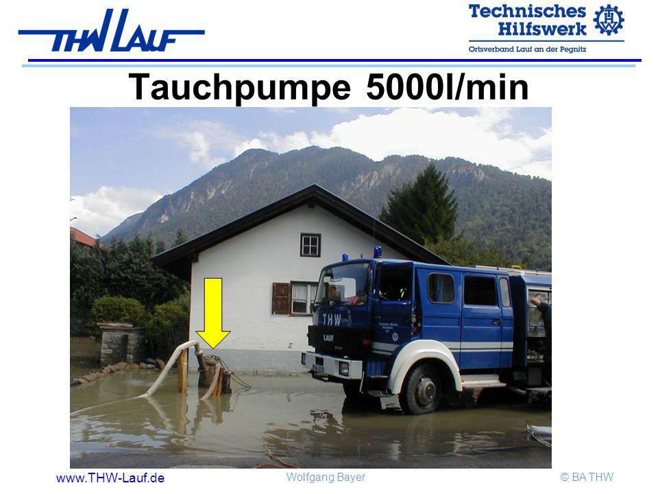 Tauchpumpe 5000l/min
