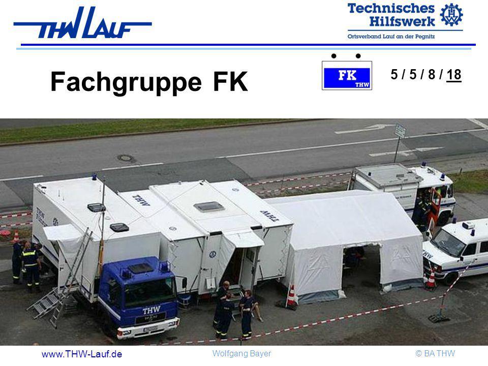 Fachgruppe FK 5 / 5 / 8 / 18